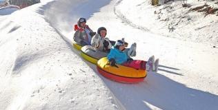Snow tubing (Aussois)