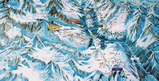 Chamonix Mont-Blanc: 150 km de pistes
