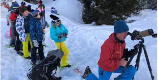 Une demi-journée randonnée raquettes (Val Cenis)