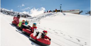 Snow tubing (Val Cenis)