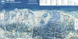 Val Cenis: 125 km de pistes